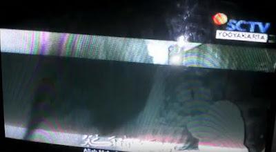 Cara atasi TV China gambar garis – garis warna Hijau tapi suara bagus