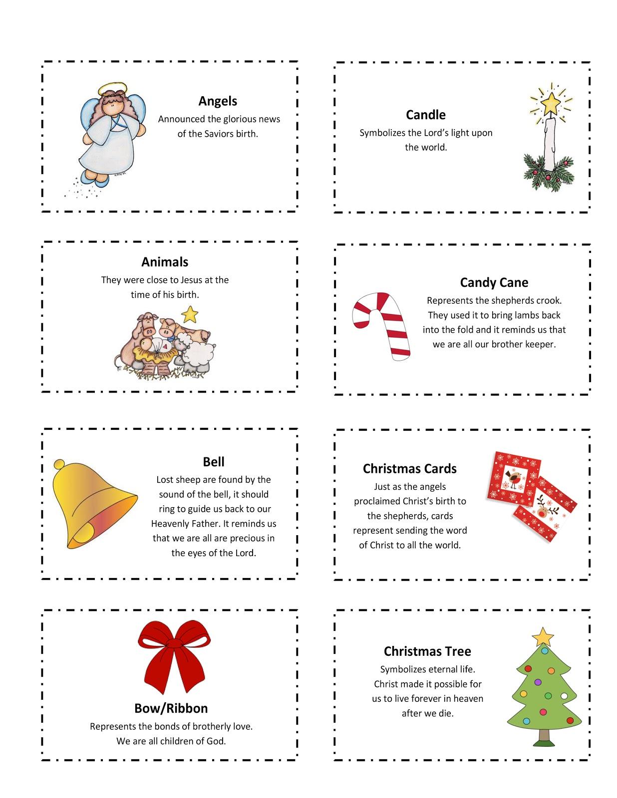 Ourhomecreations 25 Days Of Christmas Symbol Printable