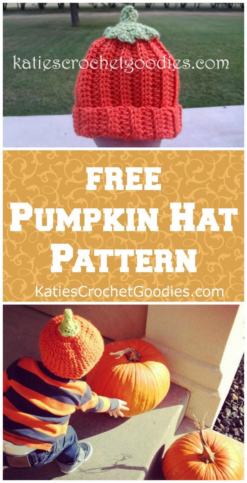 free pumpkin hat pattern
