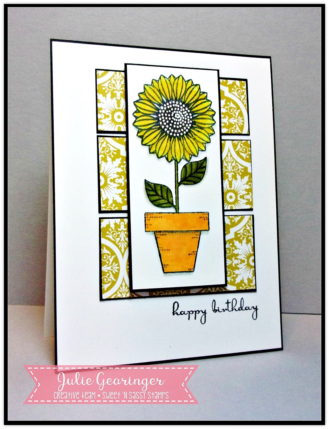 Coloring Book Chance The R Er Clean : Stamping with julie gearinger snss pretty potted florals sneak peek