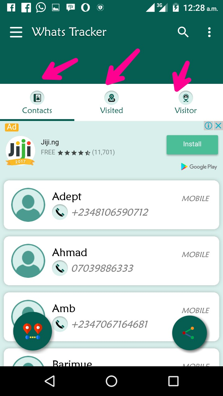 Whatsapp tracker profile WhatsApp Tracking