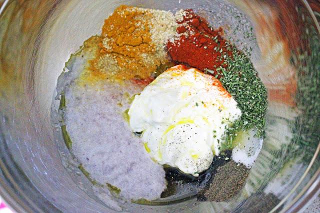 Σουβλάκια Κοτόπουλο μαριναρισμένα με Γιαούρτι / Chicken Souvlakia marinated with Yogurt
