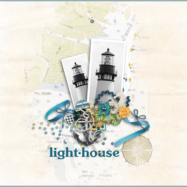 lighthouse © sylvia • sro 2019 • ocean bliss by magical scraps galore