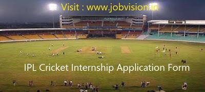 IPL Cricket Internship Application Form  IPL-Cricket-Internship-Application-Form