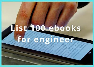 List 100 ebooks for engineer