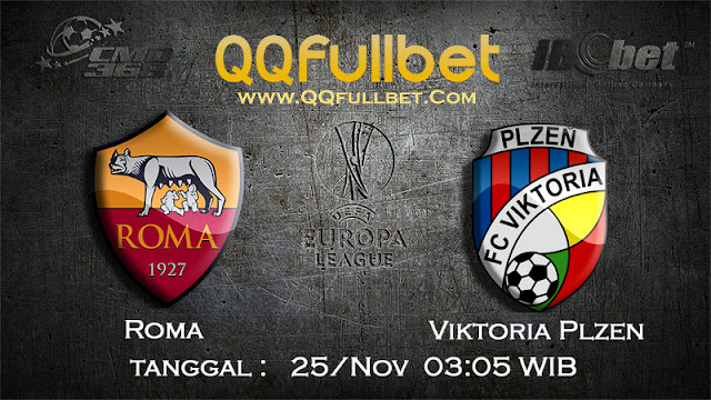 PREDIKSIBOLA - Prediksi Taruhan Bola Roma vs Viktoria Plzen 25 Nov 2016 (UEFA Europa League)
