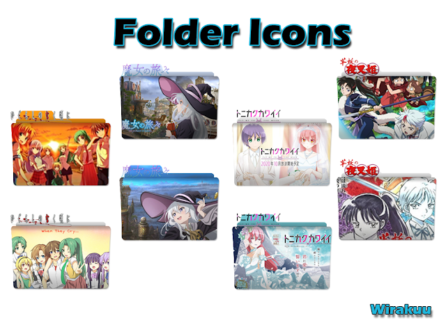 Download Folder Icons Anime Fall 2020