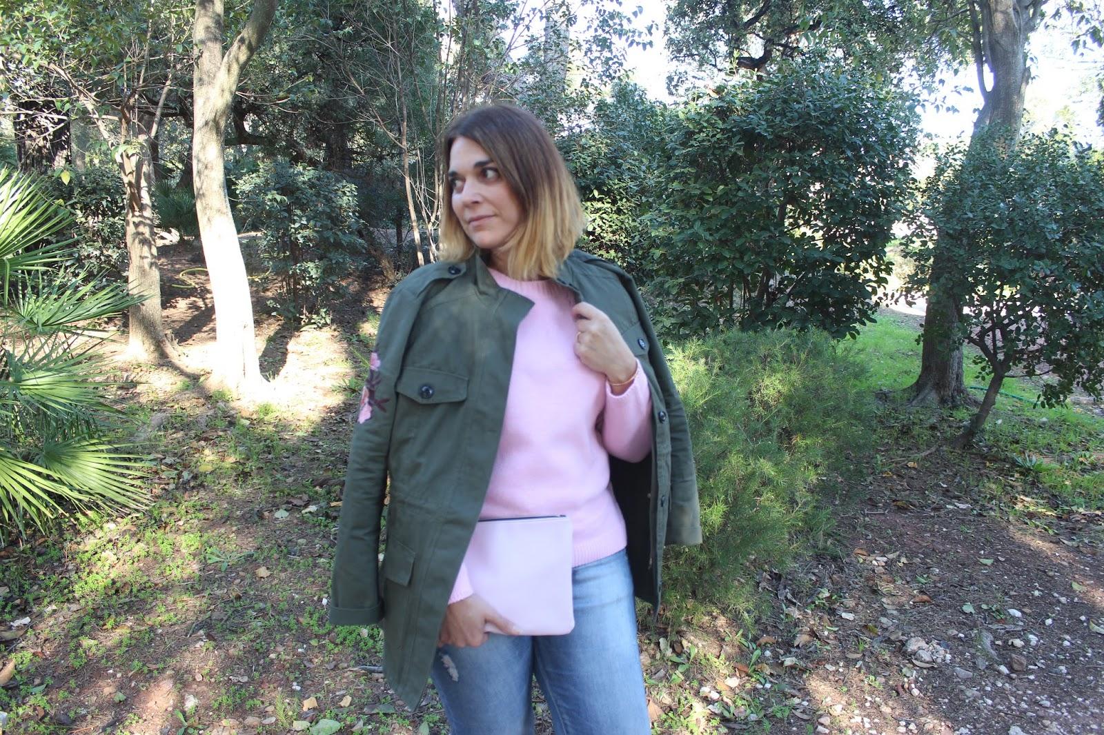 Blog Blog De Lou Veste Barbapapa Le Le Le Pull Sienna Et Militaire BqXxYF