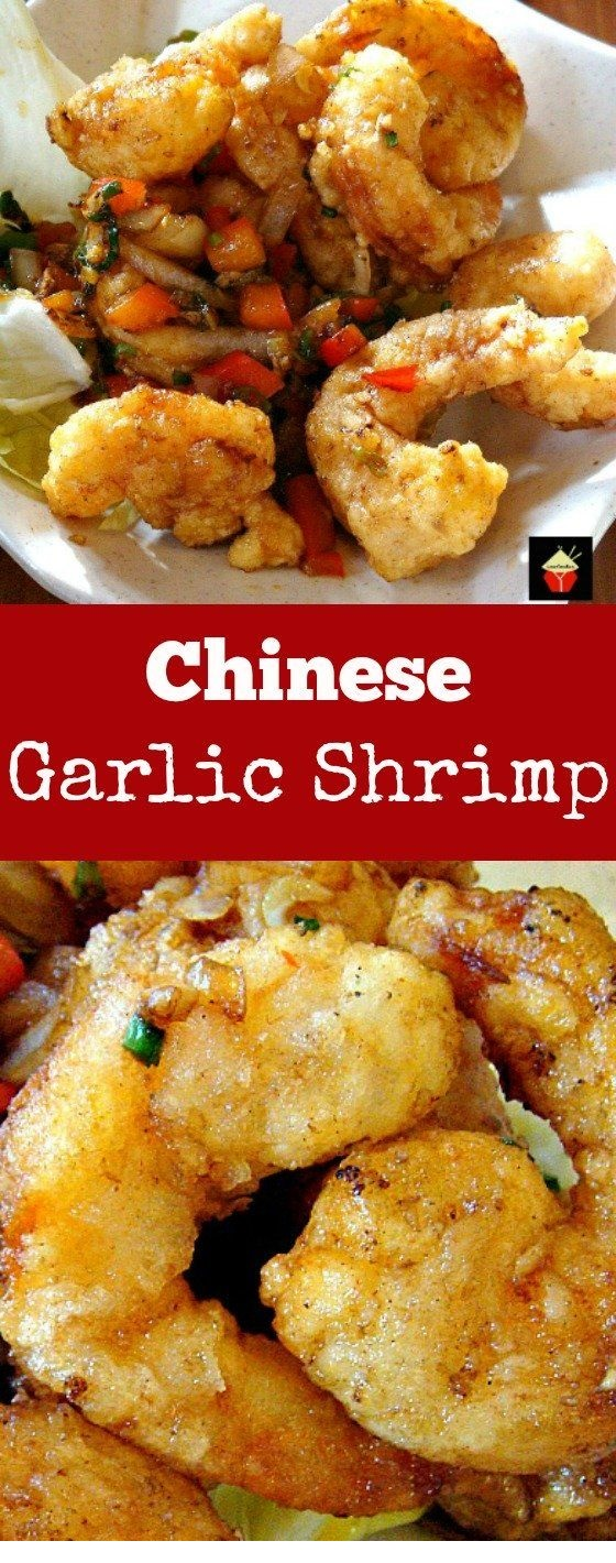 Chinese Garlic Shrimp