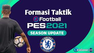 Formasi Terbaik Chelsea di PES 2021
