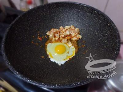 masukkan telur