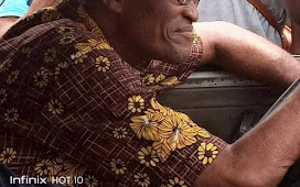 President Buhari's look alike spotted in Lagos traffic as a Taxi driver