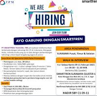 Bursa Kerja di PT. Smartfren Telecom Tbk Surabaya Cluster 1 Februari 2021