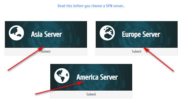 Server PPTP VPN gratis