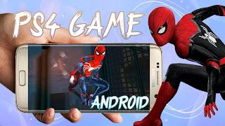 The amazing spider man 1 latest version 1.2.3e PS4 skin apk+data