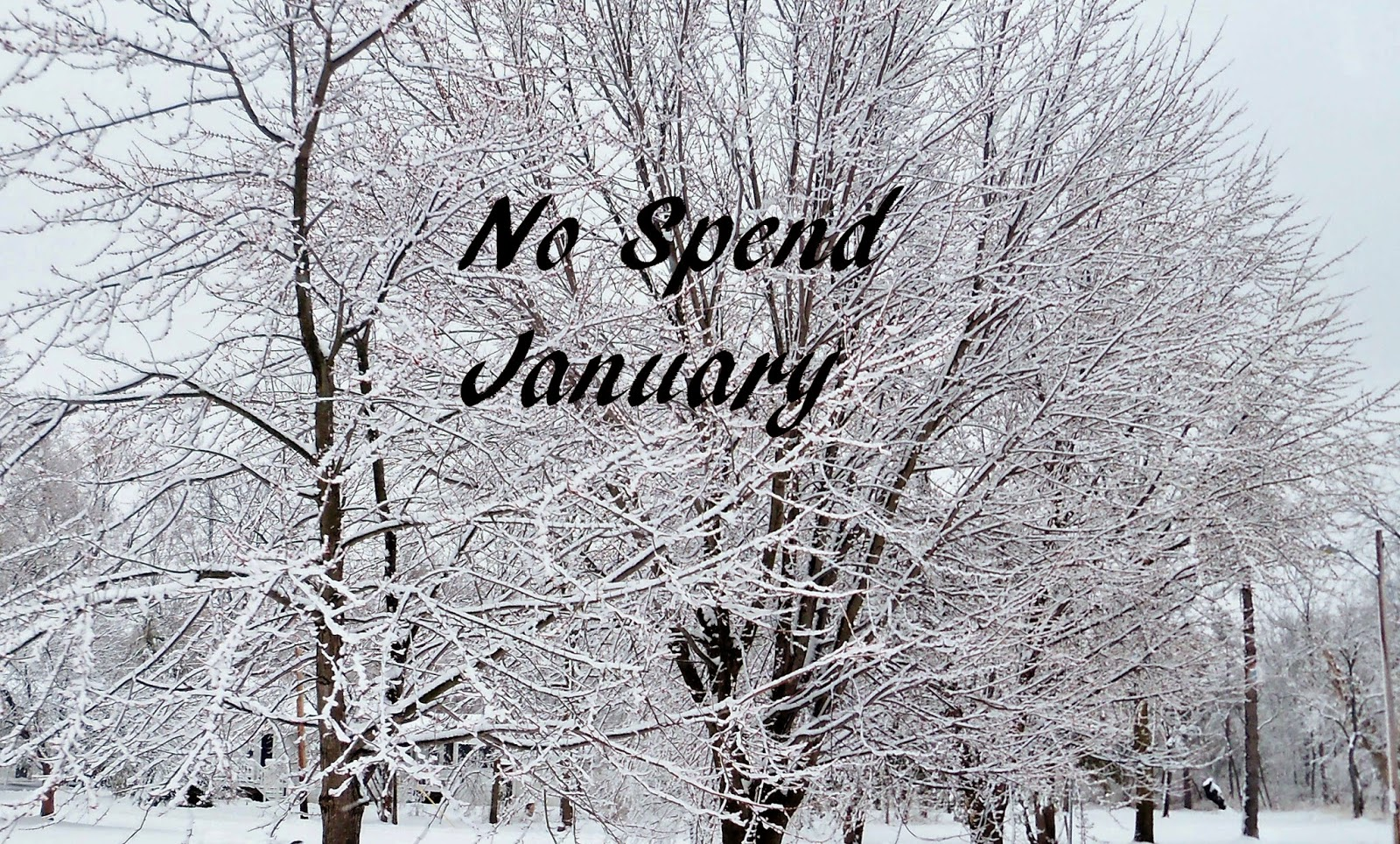No spend January picture