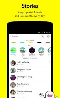 Snapchat APK v9.30.5.0 Terbaru 2016