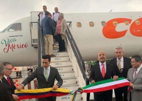 México y Venezuela restablecen vuelos directos