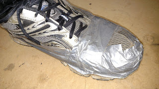 Would You Wear These Shoes With Duct Tape?