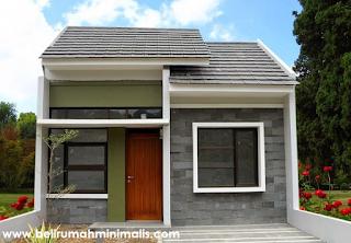 Desain dan Denah Rumah Minimalis Sederhana Type 21 3