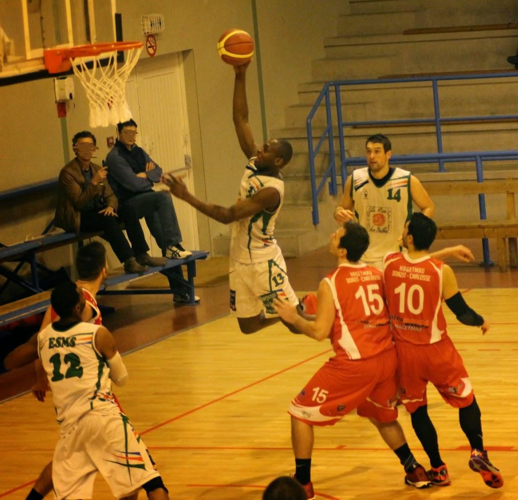 5c29148aef5 Basket   SG1 Nationale 3  Courte défaite de l ESMS à HDC 72-70