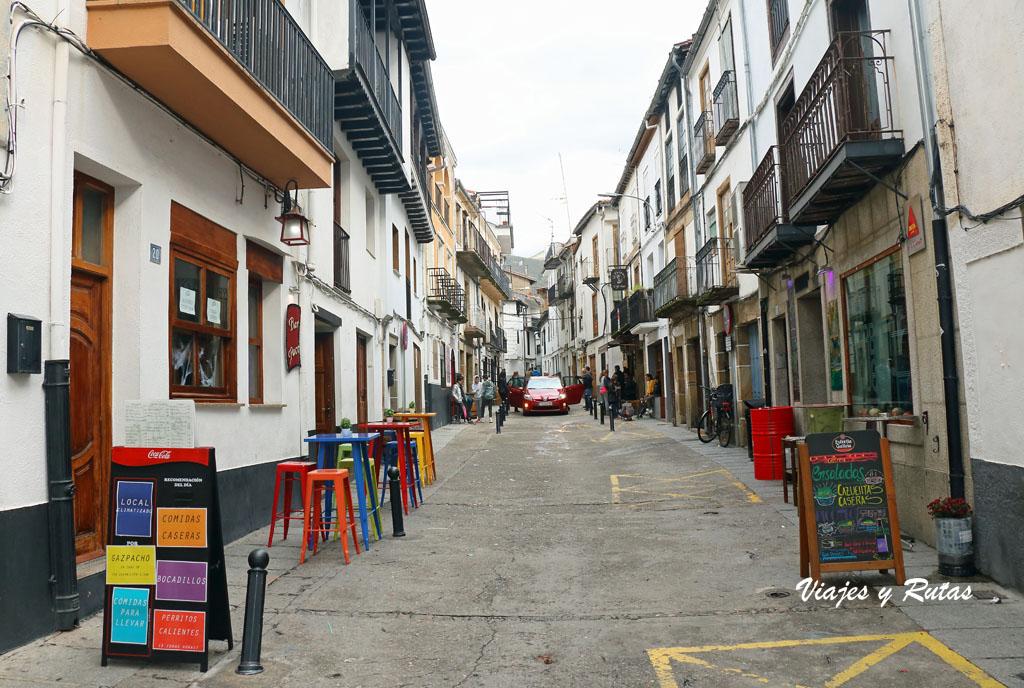 Calle Pizarro de Hervás