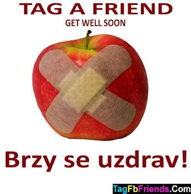 Get well soon in Czech language