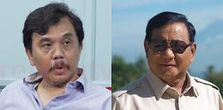 Sebelum Ditangkap, Syahganda Sempat Komentari Prabowo: Menuduh Tanpa Dasar yang Kuat