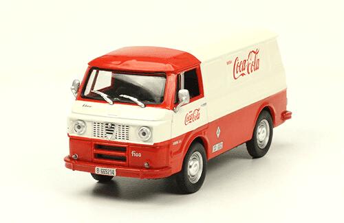 Ebro F100 1969 Coca Cola vehículos de reparto y servicio salvat