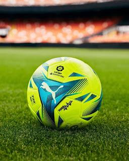 كرة الدوري الاسباني للموسم الجديد 2022