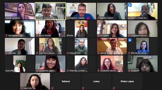 #Calama Comisión de Género del Colegio de Periodistas El Loa realizó participativo conversatorio