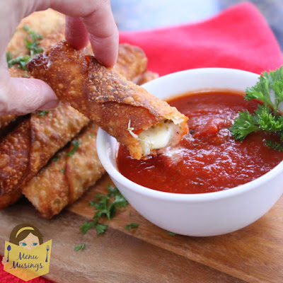 menu musings_ happy hour pizza rolls