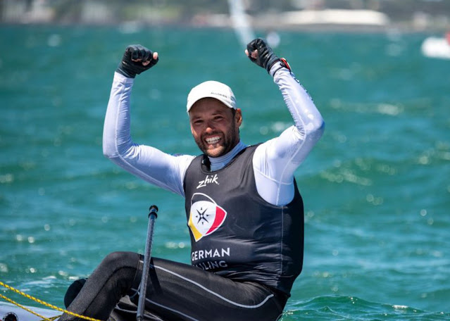 Philipp Buhl comemora título mundial
