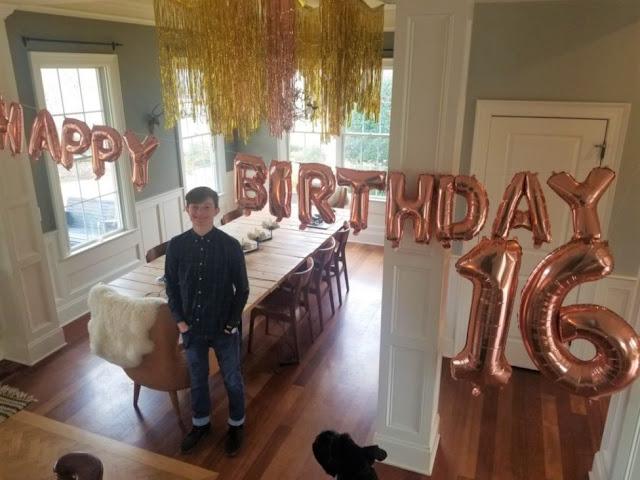 Happy Birthday Oliver/ SIXTEEN!