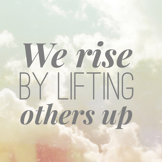 Britches and Boots : A Place I Call Home: We rise by lifting others up