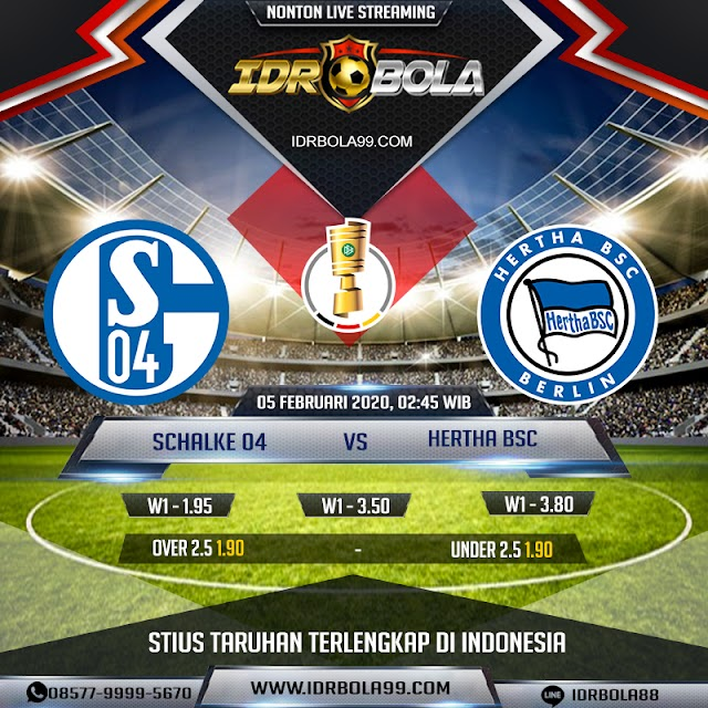 IDRBOLA - Prediksi Bola Schalke 04 Vs Hertha BSC 05 Februari 2020