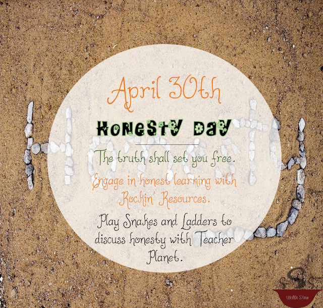 While every day is a good day to talk about honesty, make the extra effort on April 30, 2020.