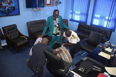 Liberia, News, Apostle Suleman, Police,