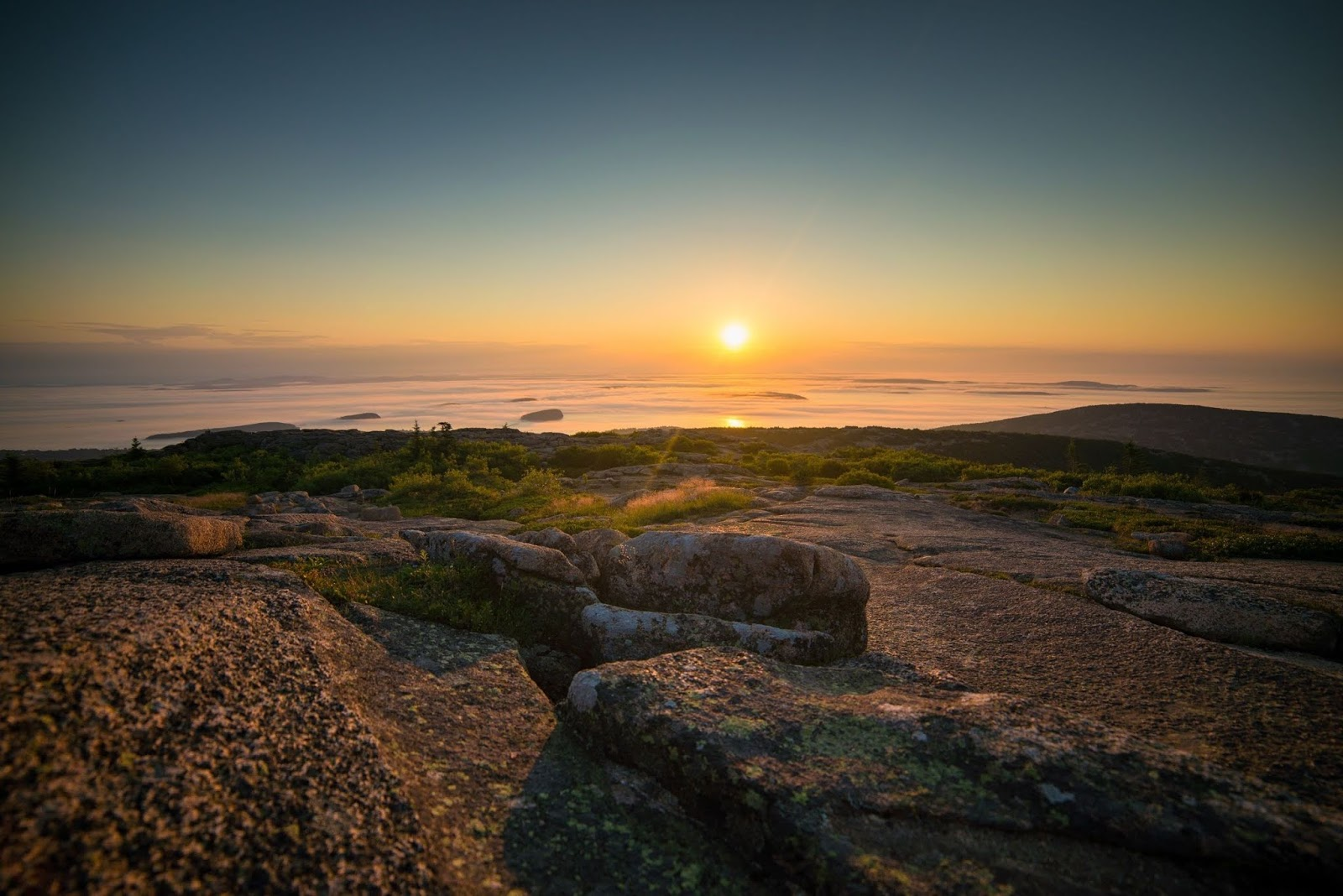 Cadillac Mountain is located on Mount Desert Island wallpapers