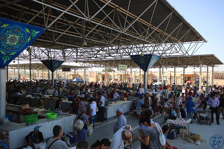 Le Chameau Bleu - Blog Voyage Ouzbékistan - Balade dans le Marché de Samarcande