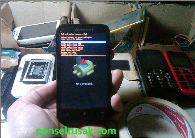 How to enter the android system recovery on Lenovo a316i