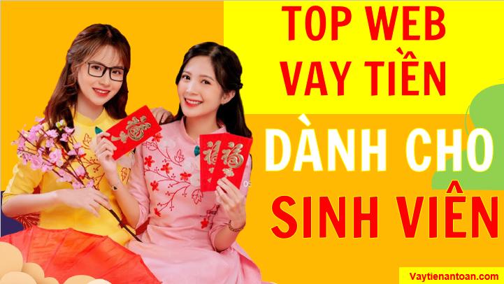 Top Web Vay tiền Sinh viên Online