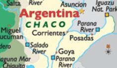 Peta Argentina