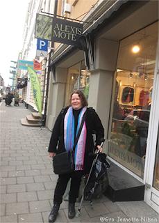 Hyggelig kleshandel hos Alexis Mote i Oslo.