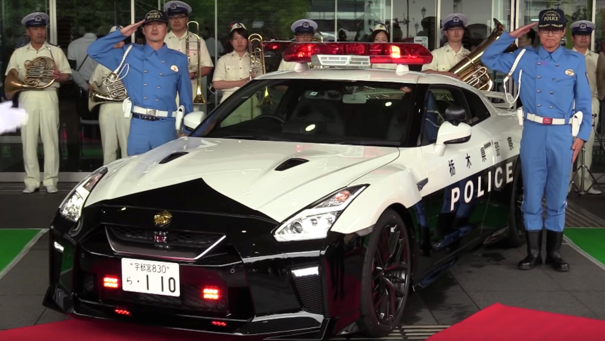 Japan Now Has One Of The Fastest Police Cars In Service Philippine