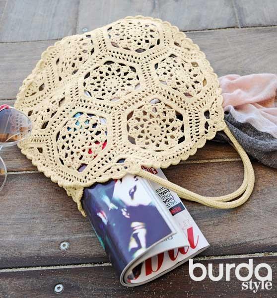 sacs de plage au crochet