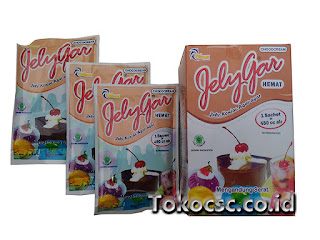 Jelly Powder Jelygar Hemat ChocoCream