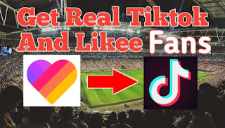 Get Real Followers On Likee and Tiktok ~ Likee और Tiktok पर Real Fans कैसे बढ़ाए.