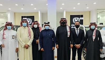 المجدوعي شانجان تعتمد مجموعة حاتم الصافي موزعاً معتمداً لها في منطقة الباحة