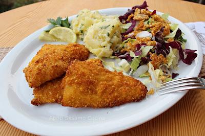 Filetti di merluzzo croccanti, senza glutine, ricetta al forno